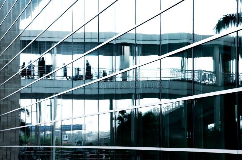 Geschäftszentrumglas lizenzfreie stockfotos