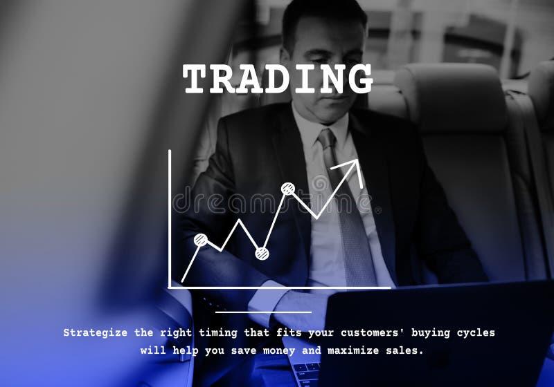 Geschäftszweig aufwärts Pfeilbericht des Diagramms lizenzfreies stockfoto