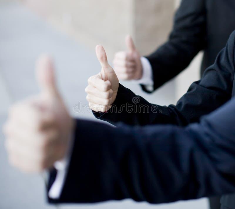 GeschäftThumbs-up stockfoto