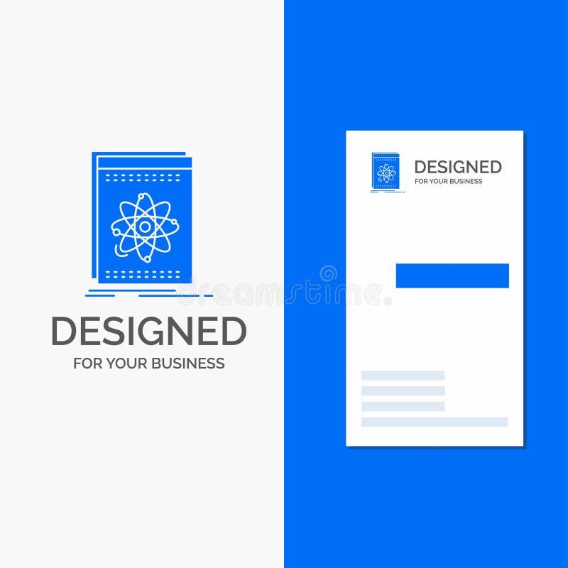 Gesch?fts-Logo f?r API, Anwendung, Entwickler, Plattform, Wissenschaft Vertikale blaue Gesch?fts-/Visitenkarteschablone vektor abbildung