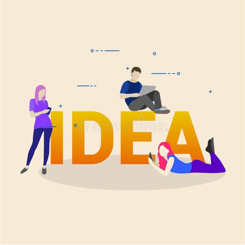 Gesch?ftstreffen und Brainstorming Idee und Gesch?ftskonzept f?r Teamwork stockbild