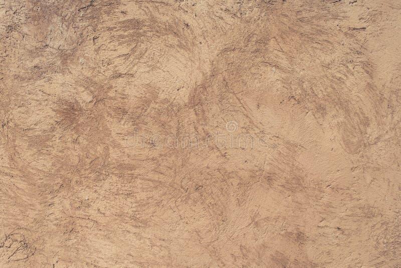 Geschaafd textuur beige beton stock foto's