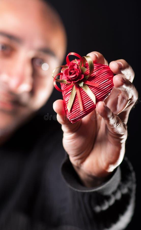 Geschenk lizenzfreies stockfoto