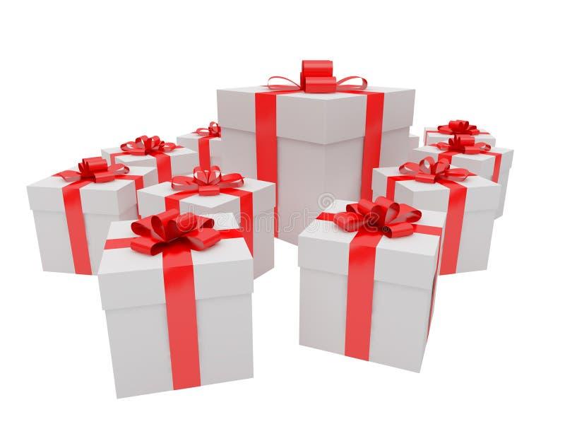 Geschenk für einen Feiertag stock abbildung