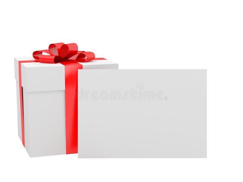 Geschenk für einen Feiertag vektor abbildung