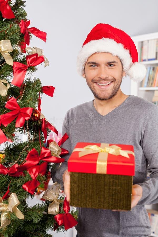 Geschenk für Sie. lizenzfreie stockfotografie