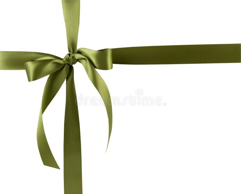 Geschenk-Farbband und Bogen stockfoto