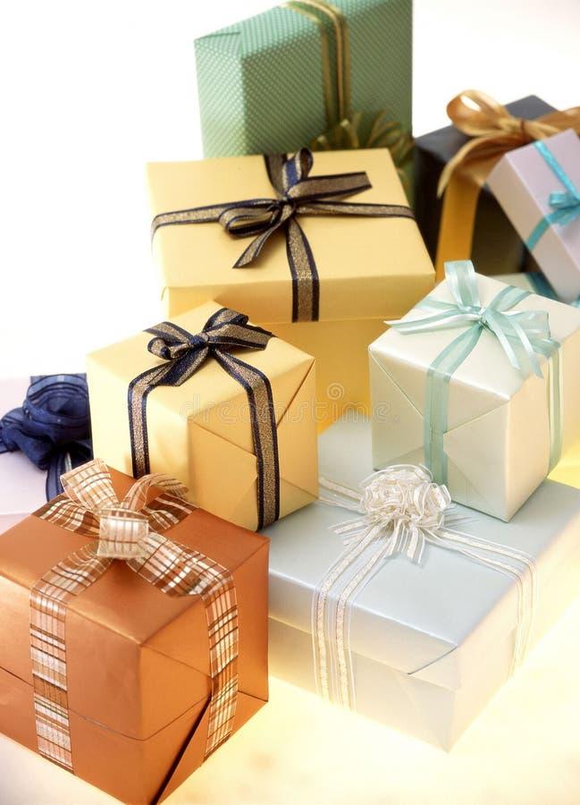 Geschenk-Kasten stockbild