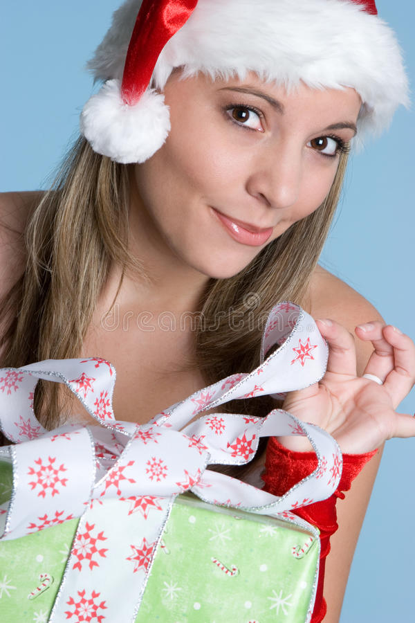 Geschenk-Mädchen lizenzfreie stockbilder