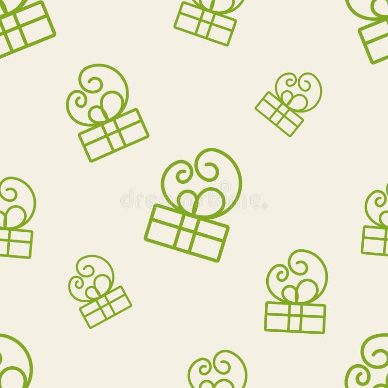 Geschenk-Muster vier lizenzfreie abbildung