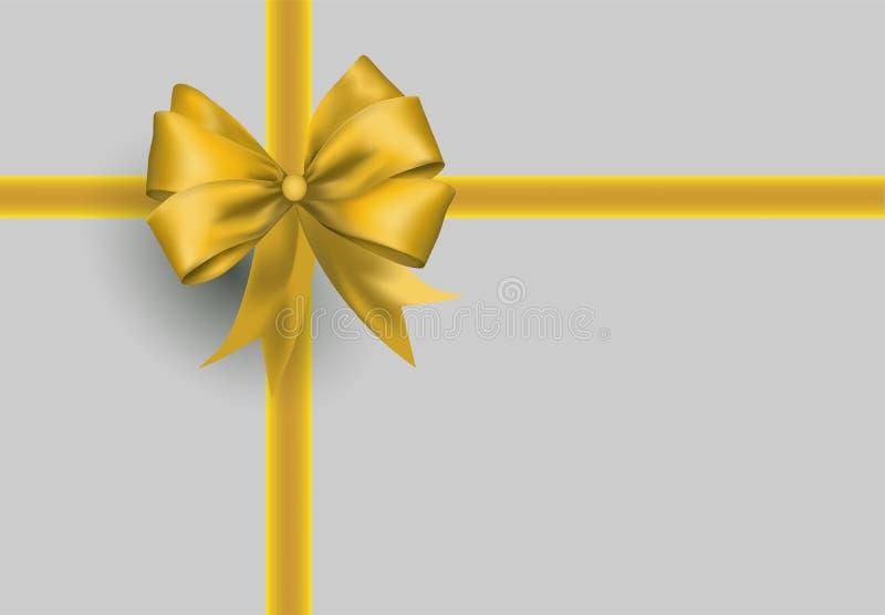 geschenk und geschenkband bogen oder schleife vektor abbildung bild 63783462. Black Bedroom Furniture Sets. Home Design Ideas