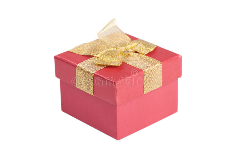 Geschenkbox. stockfotografie