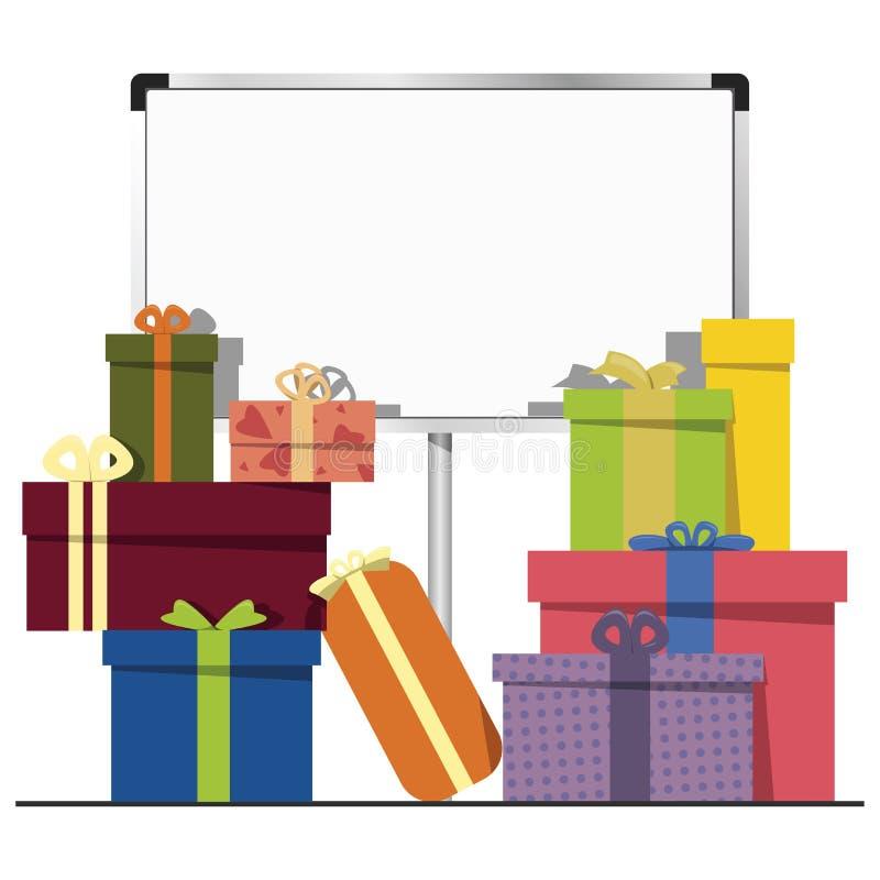 Geschenkboxen Lizenzfreie Stockbilder