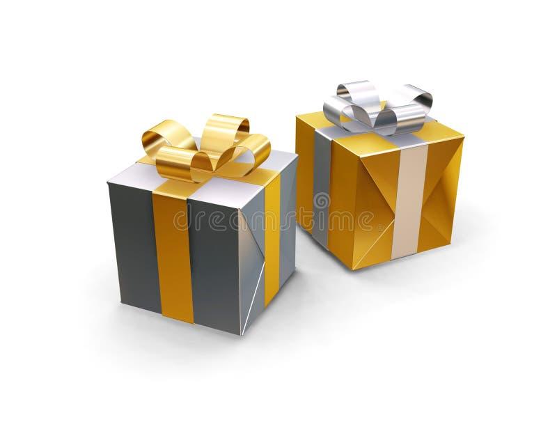 Geschenke lizenzfreie stockbilder