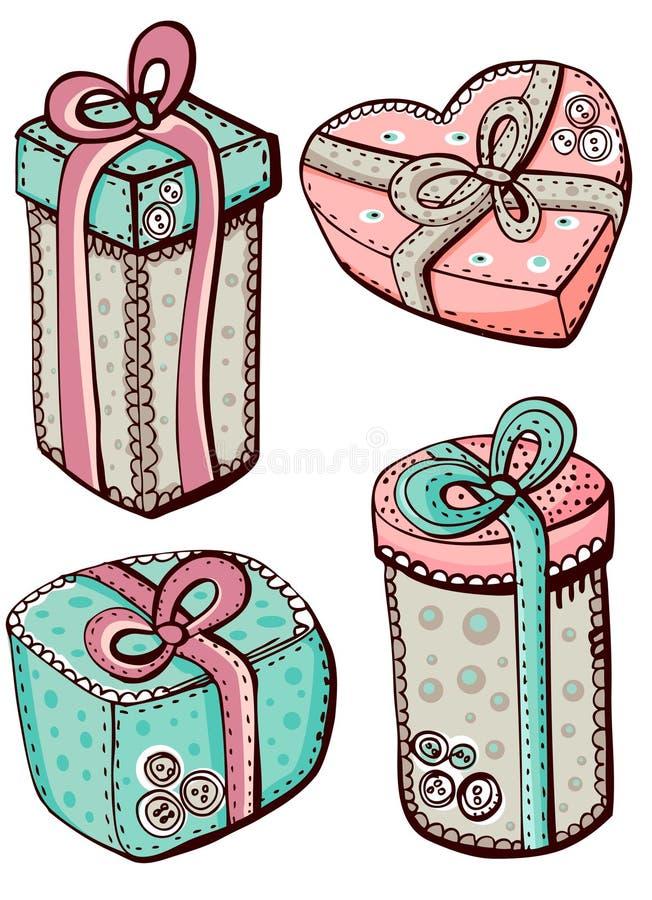 Geschenke lizenzfreie abbildung
