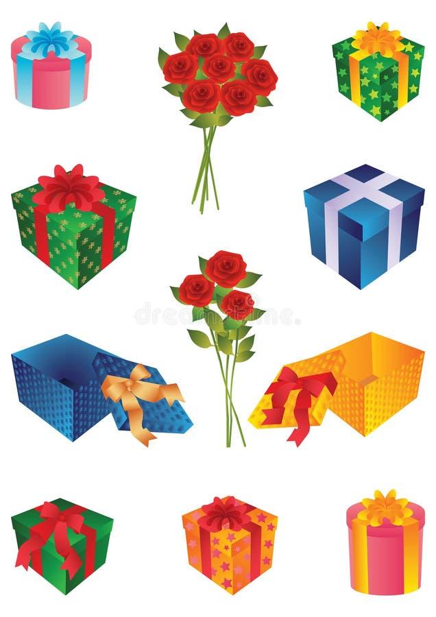 Geschenke 2 stock abbildung