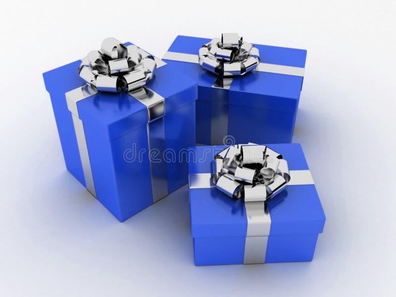 Geschenke 3d vektor abbildung