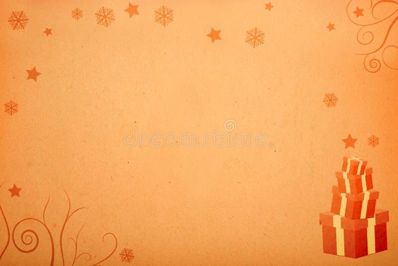 Geschenke für Weihnachten lizenzfreie abbildung