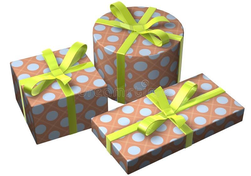 Geschenke Retro Royalty Free Stock Image