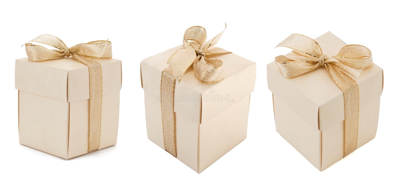 Geschenkkästen stockfotografie