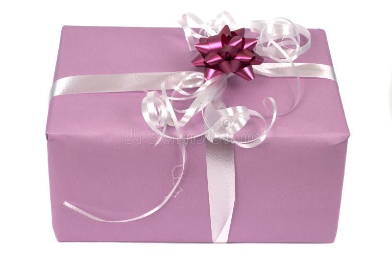 Geschenkpaket stockbilder