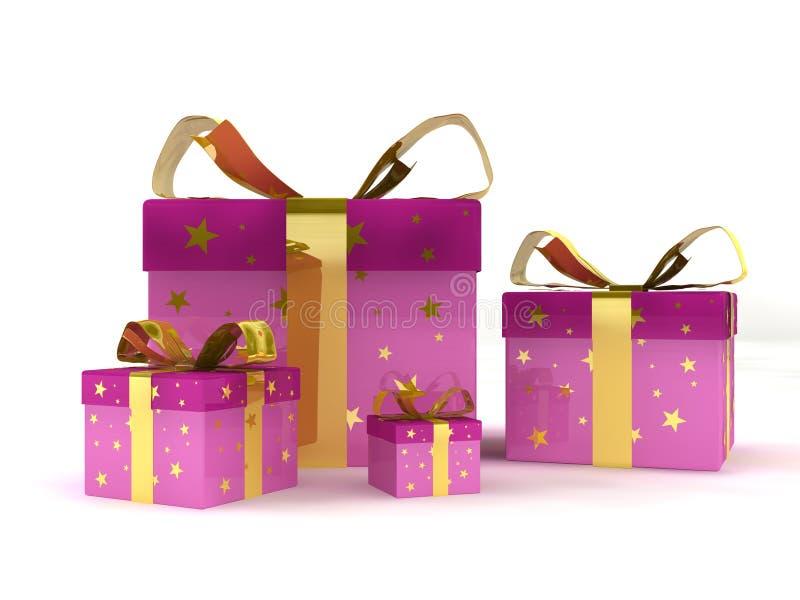 Geschenksätze vektor abbildung