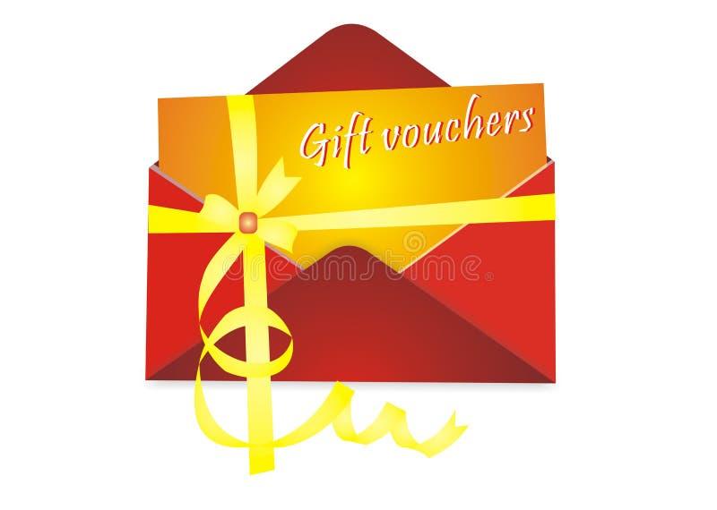 Geschenkzeugen lizenzfreie abbildung