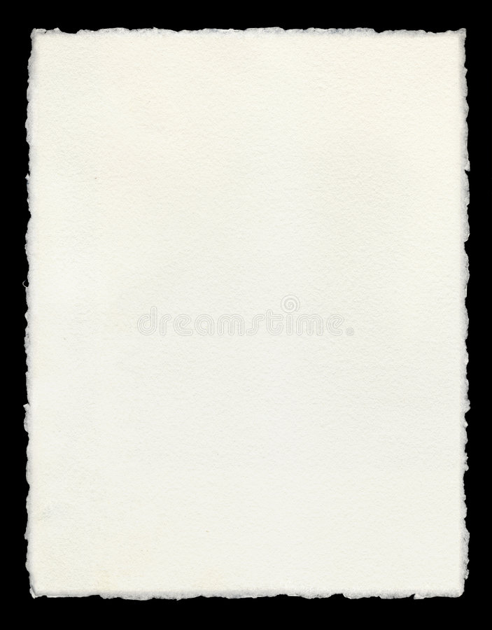 Geschept Document royalty-vrije stock fotografie