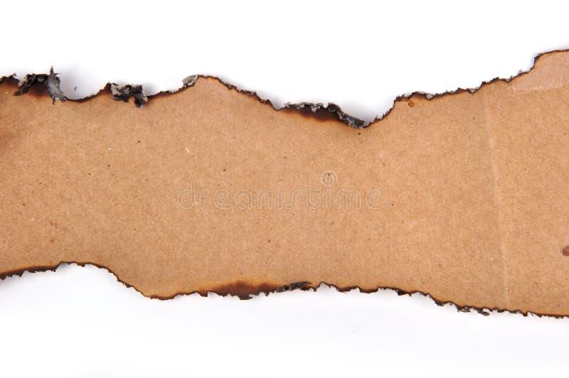 Gescheurd Document stock foto's