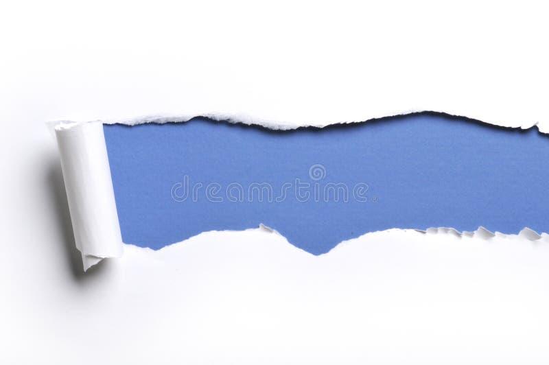 Gescheurd document royalty-vrije stock afbeelding