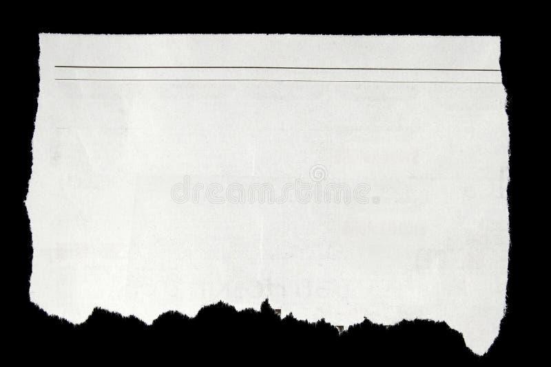 Gescheurd document royalty-vrije stock foto's