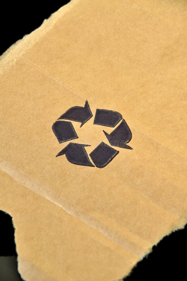 Gescheurd karton stock afbeelding