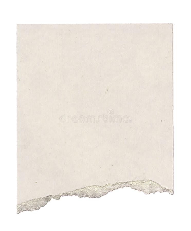 Gescheurd Karton stock foto