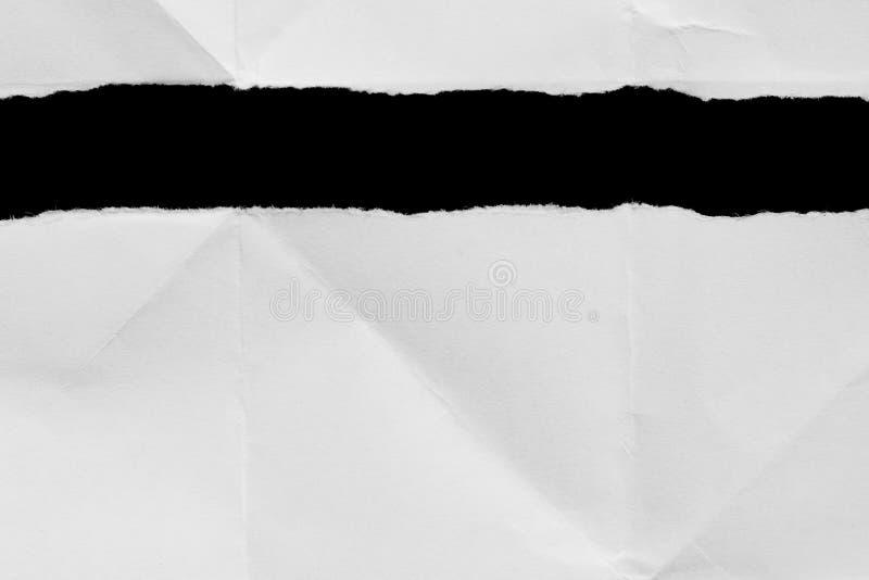 Gescheurd scheur document stock fotografie