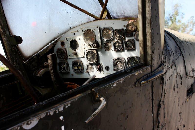 Geschichte des alten Flugzeugs, Retro- Transport stockbild