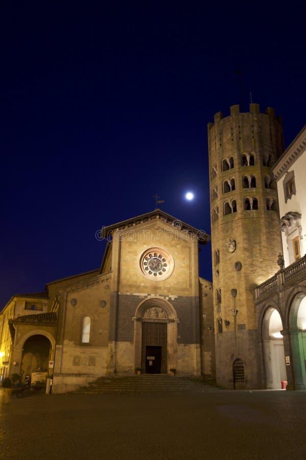 Geschichte und Kultur in einem mittelalterlichen italienischen Dorf stockfoto