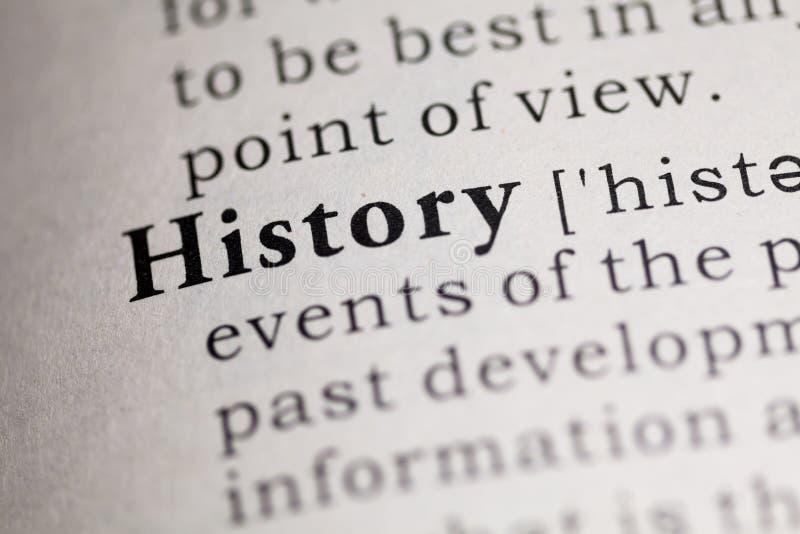 geschiedenis royalty-vrije stock foto's