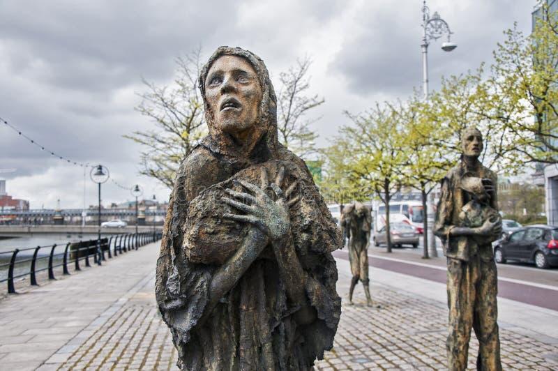 Geschiedenis van Dublin stock foto's