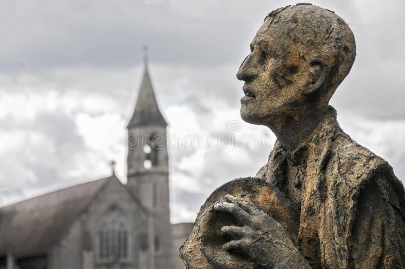 Geschiedenis van Dublin stock afbeelding