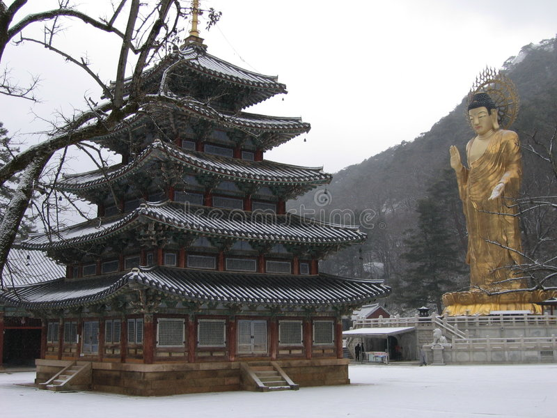 Geschiedenis van Korea stock afbeelding