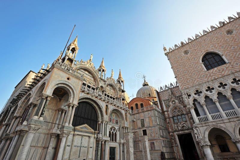 Geschiedenis in Venetië stock foto