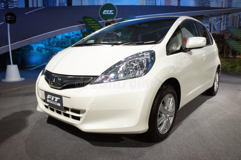 Geschikte Hybride nieuwe auto, BOI Markt 2011 Thailand royalty-vrije stock fotografie