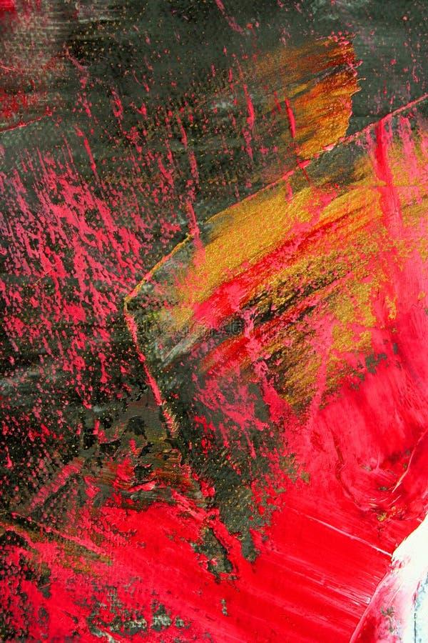 Geschilderd canvas stock foto's