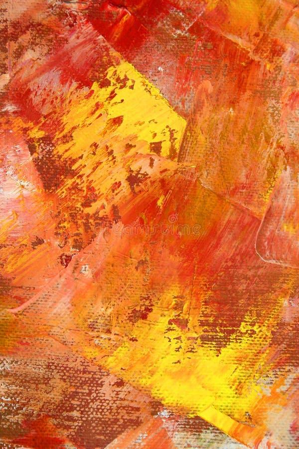 Geschilderd canvas stock afbeeldingen