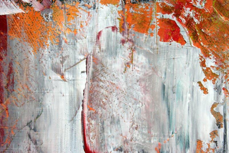 Geschilderd canvas als achtergrond. royalty-vrije stock afbeeldingen