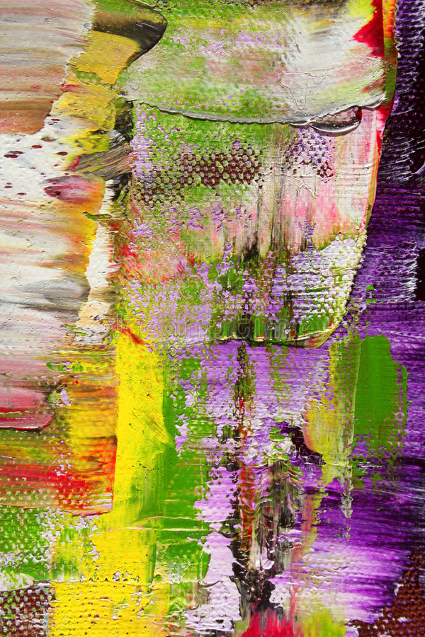 Geschilderd canvas als achtergrond stock afbeelding