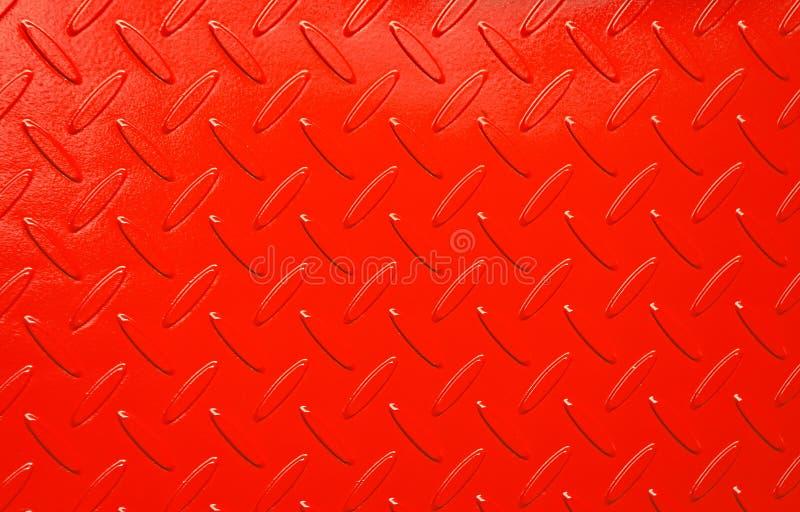 Geschilderd checkerplate royalty-vrije stock afbeeldingen