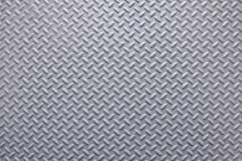 Geschilderd Metaal met de Achtergrond van het Visgraatpatroon royalty-vrije stock foto