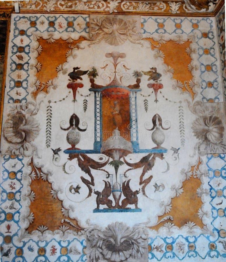 Geschilderd Plafond royalty-vrije stock afbeelding