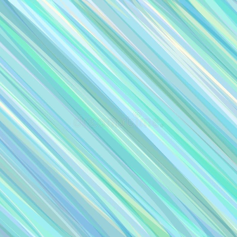 Geschilderde Blauwe en Groene Achtergrond royalty-vrije illustratie